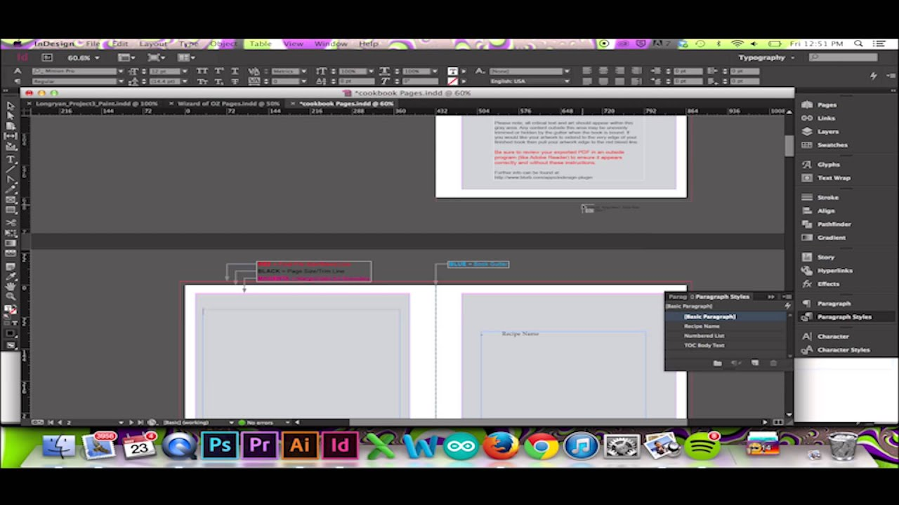 How to make a table of contents in indesign cs6cc youtube solutioingenieria Gallery