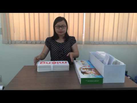 Bộ Flash card tiếng Việt dạy trẻ biết đọc sớm theo phương pháp Glenn Doman