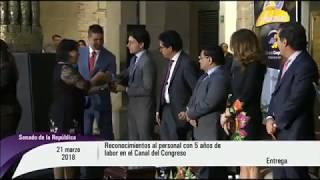 Ceremonia conmemorativa del 20 Aniversario del Canal del Congreso