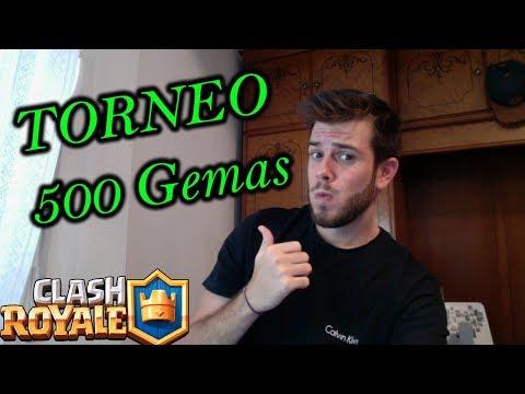 TORNEO 500 GEMAS PATROCINADO POR JOSHUA BARRIOS!! #CLASHROYALE #SORTEO