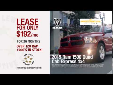 Awesome Ron Lewis Chrysler Dodge Jeep Ram Pleasant Hills   August TV Ad