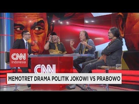 Budayawan: Berbalas Pidato Prabowo-Jokowi Kurang Bermutu
