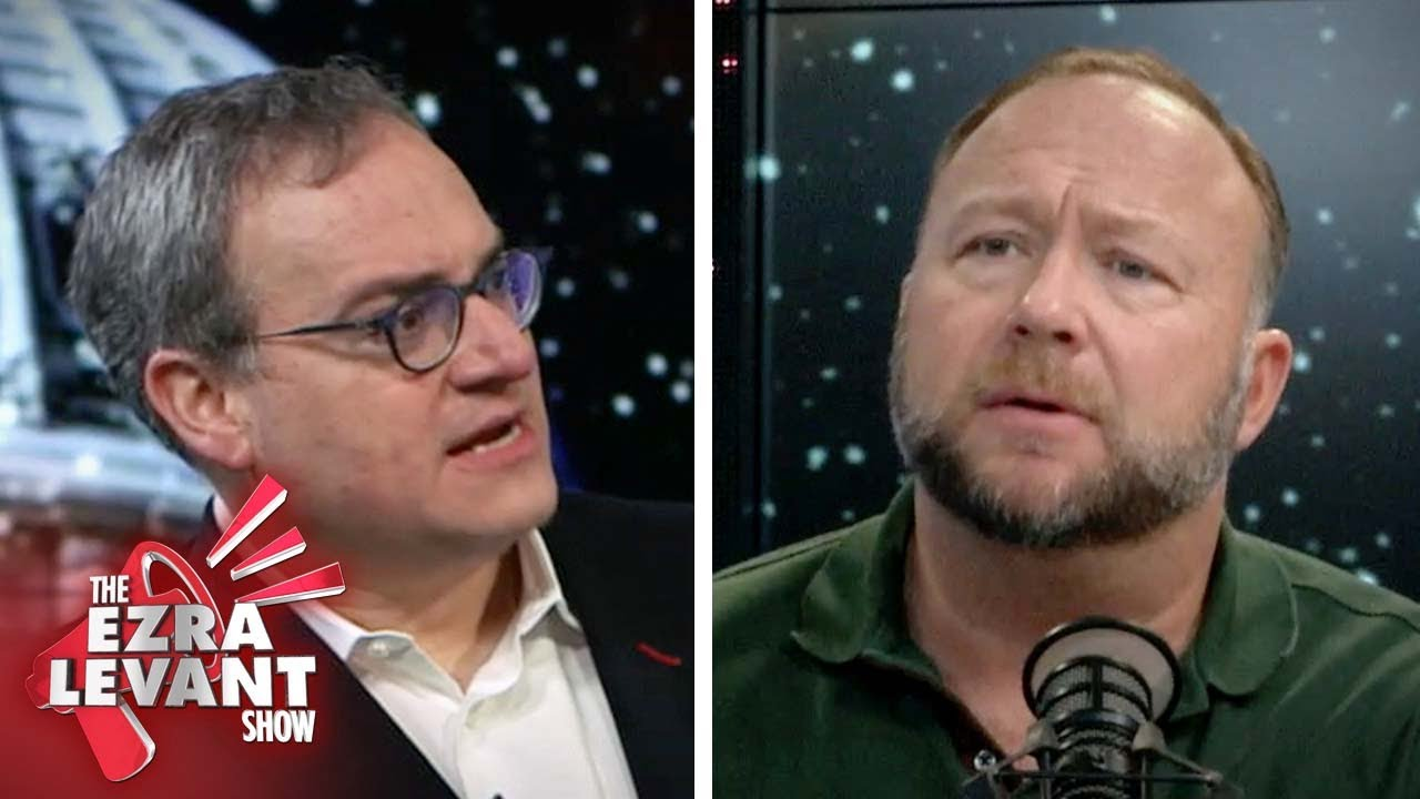 Ezra Levant interviews Alex Jones at the Infowars headquarters