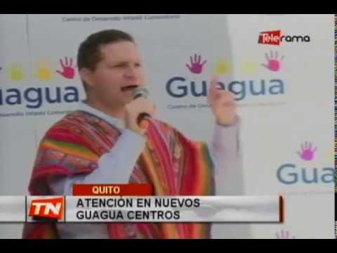 Atención en nuevos Guagua centros