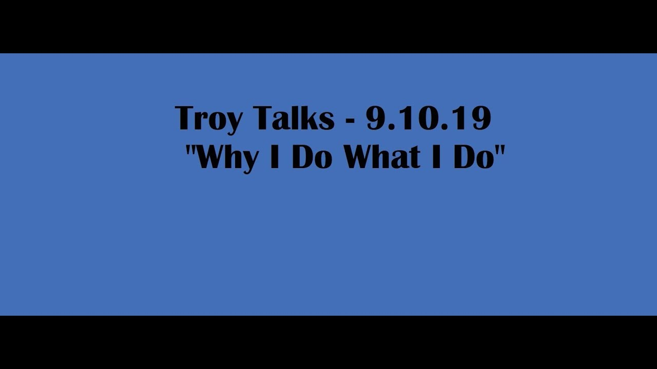 Troy Talks | Why I Buy Houses