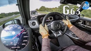 2019 Mercedes-AMG G63 (585hp) - 0-250 km/h acceleration!🏁