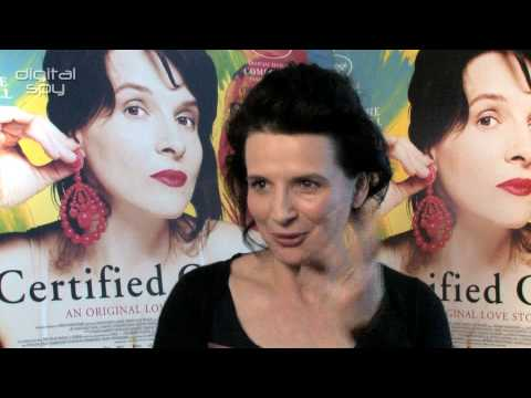 Juliette Binoche on 'Certified Copy'