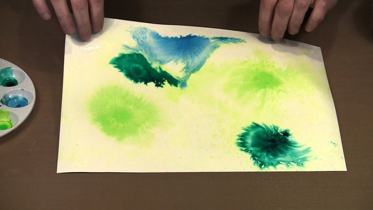 Using Liquitex Acrylic Inks By YouTube