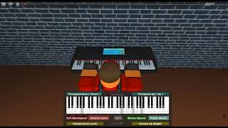 Once Upon A December - Anastasia by: Liz Callaway on a ROBLOX piano.