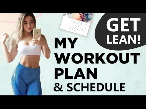 My Workout Routine & Schedule To Get Lean | Your Workout Plan?