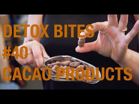 Cacao Products Explained (Beans, Nibs, Paste/Liquor, Butter, Powder) - Detox Bites #40