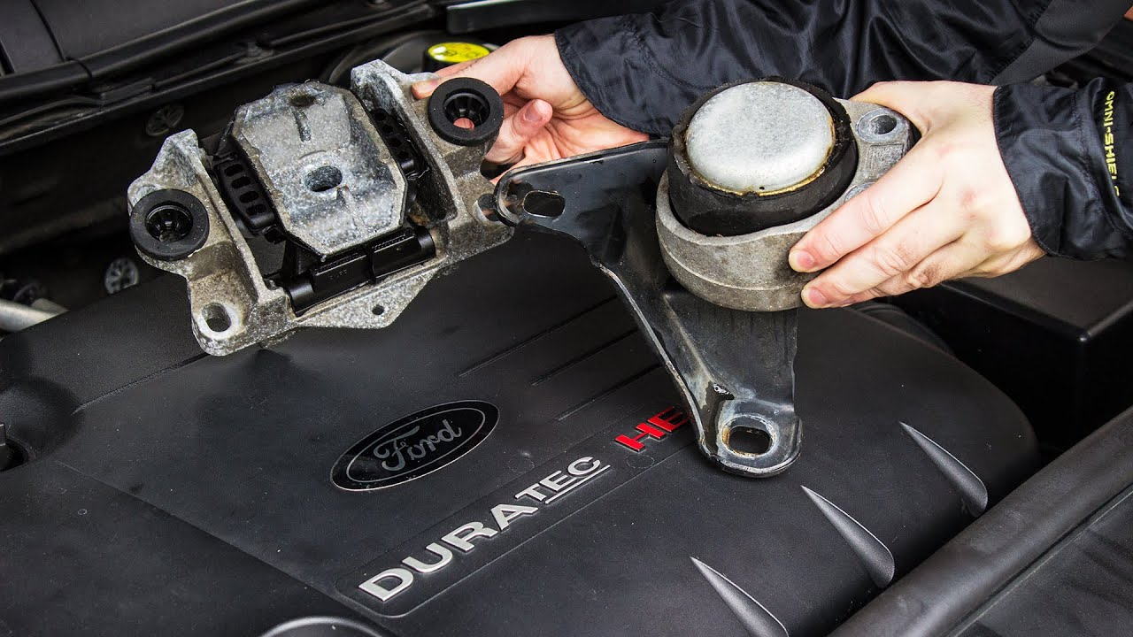 How To Replace Ford Engine Mounts Duratec Mondeo Youtube
