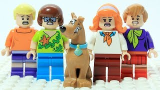 Lego Scooby Doo Wrong Heads Changing Bod...
