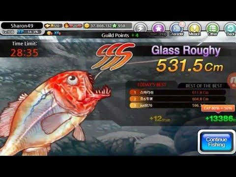 FISHING SUPERSTARS 72#: GLASS ROUGHY CHALLENGE [28/08/2017]