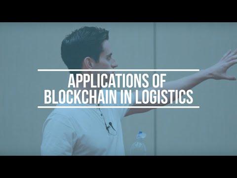 Applications of Blockchain in Logistics