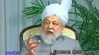 Frage & Anwort - Sitzung mit dem 4. Khalifen Hathrat Mirza Tahir Ahmad 8. Januar 2003