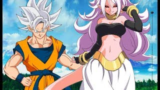 Goku Teaches Android 21 A Lesson | This Is DBVS Mastered Ultra Instinct Goku VS Android 21