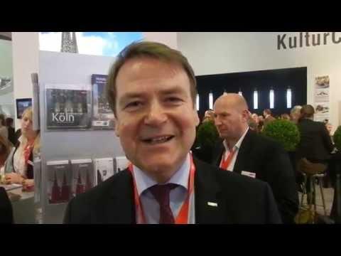Tourismus Köln Interview mit Josef Sommer ITB 2015 streaming vf