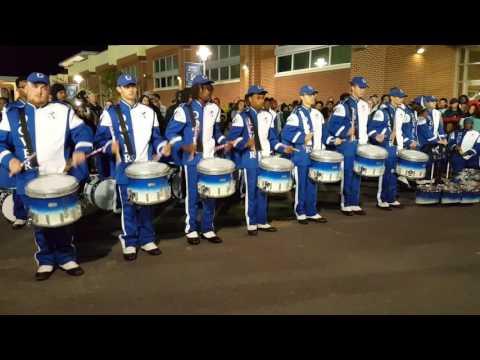 Dover High School vs. Sussex Tech Drumline Battle 2016