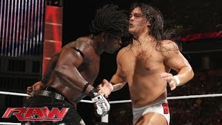 R-Truth vs. Bo Dallas: Raw, Aug. 4, 2014