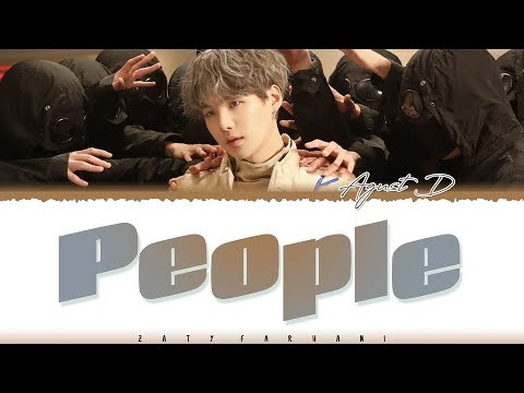 AGUST D - 'PEOPLE' Lyrics [Color Coded_Han_Rom_Eng]