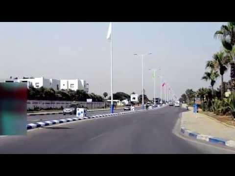 Itinéraire des Résidences des Sables d'or, par l'autoroute « Rabat-Temara »