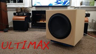 "Z Review - Dayton Ultimax 15"" Subwoofer  Worth The Wait? Hell Yeah!"