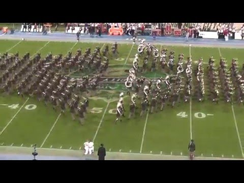 Fightin' Texas Aggie Band Halftime Show - 2015 Music City Bowl in Nashville, TN