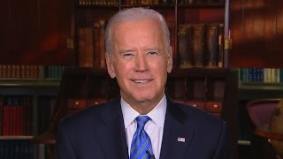 "Biden on Patriots deflate-gate scandal: ""I like a softer ball"""