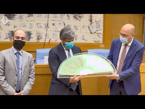 Cerimonia del Ventaglio 2021: il Presidente Fico incontra la stampa parlamentare