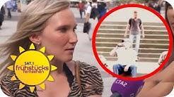 Geht als Frau nicht hier lang! Gefährlichster Bahnhof Deutschlands! | SAT.1 Frühstücksfernsehen | TV