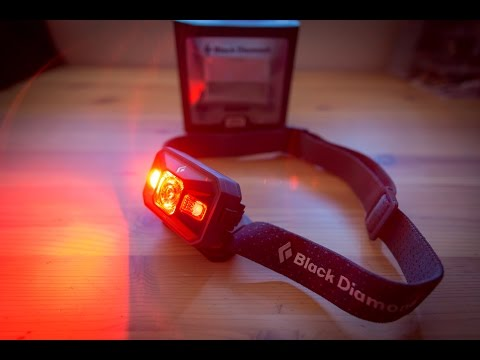 Detailed review of the 2016 Black Diamond 250 lumens Storm headlamp