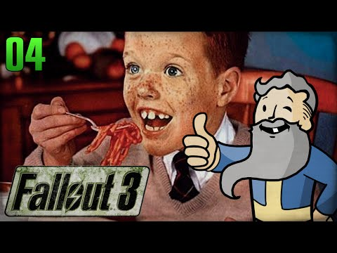 "Fallout 3 Gameplay Walkthrough Part 4 - ""FINE YOUNG CANNIBALS!!!"" 1080p HD"