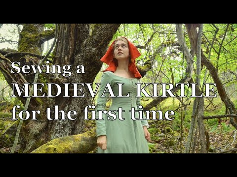 The making of a medieval kirtle