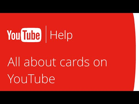 All about cards on YouTube