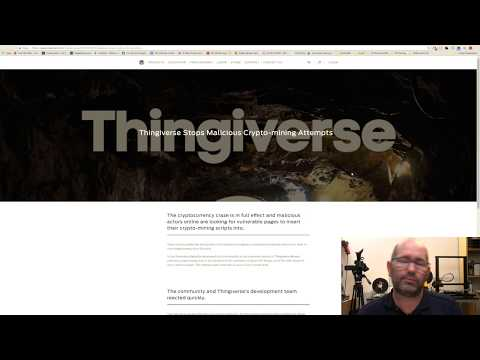 ▼ Is Thingiverse used for mining crypto currency?