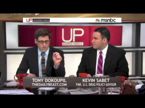 Kevin Sabet Talks about a Third Way to Marijuana Policy on UP with Chris Hayes