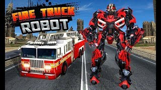 NY City Fire Fighter Robot Transform Fire Truck (By Dragon Fire Z) Gameplay HD