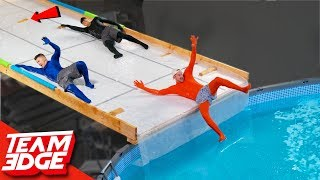Survive the Slippery Slope! | Disappearing Ledges!!