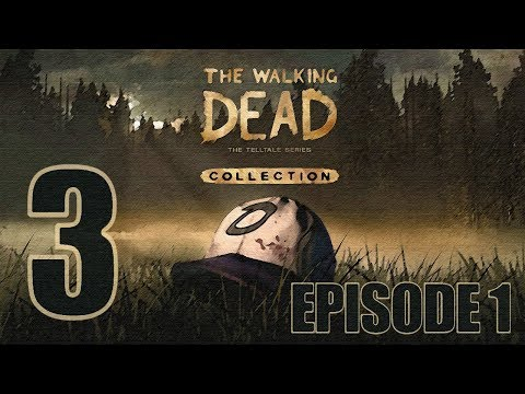 The Walking Dead Collection Season 1 Episode 1 Gameplay Walkthrough HD - Pharmacy Batteries - Part 3