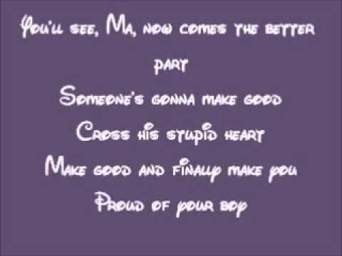 Lyrics to proud of your boy