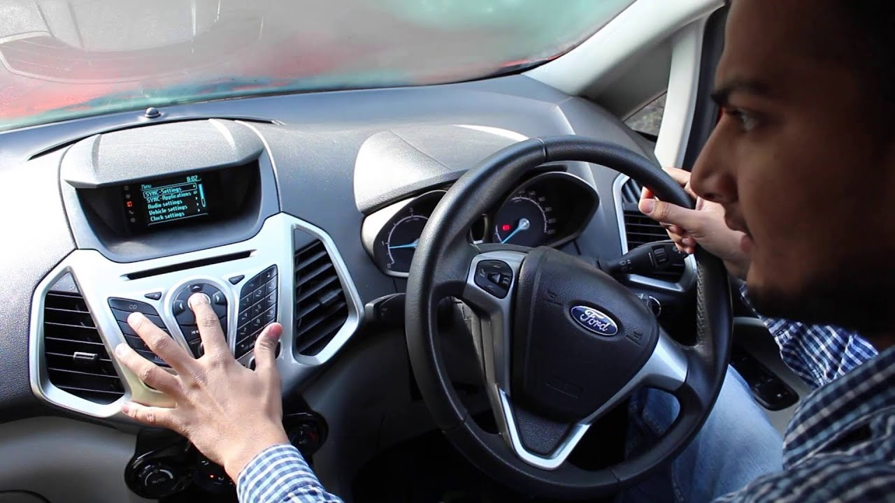How To Use Bluetooth Aux Usb On Ford Sync Music System Youtube