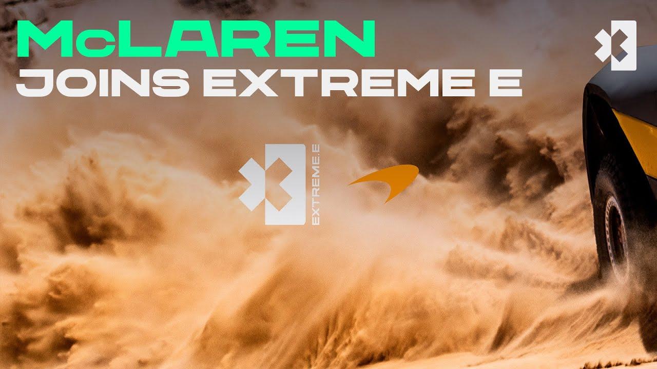 McLaren Joins Extreme E for 2022! | Extreme E