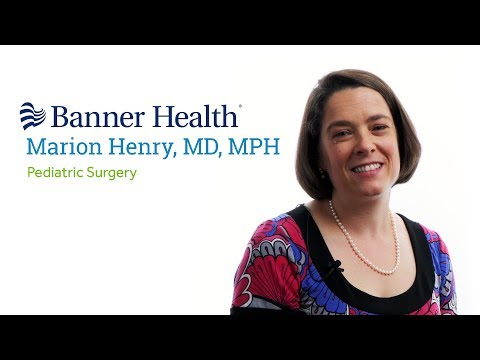 Marion C  W  Henry, MD, MPH, FACS, FAAP | the Department of Surgery