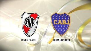 Superclásico. River vs. Boca. Fecha 13. Torneo de Primera División 2016/2017. FPT