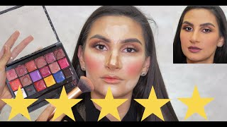 WENT TO ANOTHER BEST REVIEWED MAKEUP ARTIST IN ABU DHABI !!