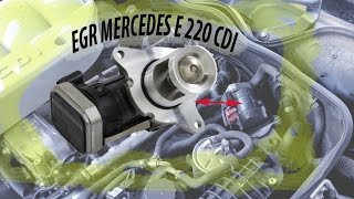 Válvula EGR Mercedes