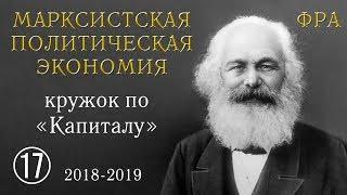 Карл Маркс «Капитал». №17. Том I, глава VIII «РАБОЧИЙ ДЕНЬ», §§ 1, 2, 3, 4.