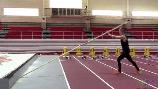 HOW TO POLE VAULT - Stationary Plant Drills 1 Step Wall Plant with Pole