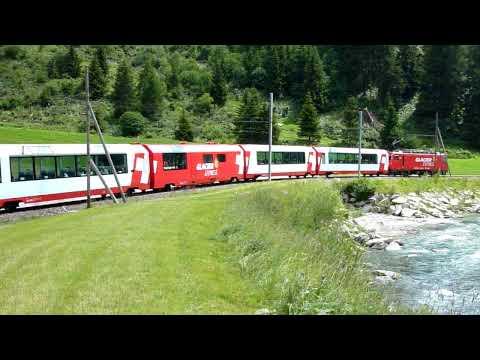 GEX Bei Andermatt (Glacier Express)
